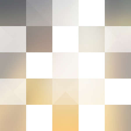 pastel colored: Abstract Background Design With Geometric Pattern - Pastel Colored Square Mosaics