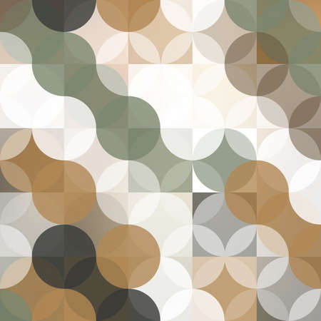 pastel colored: Abstract Background Design With Geometric Pattern, Pastel Colored Circles Illustration