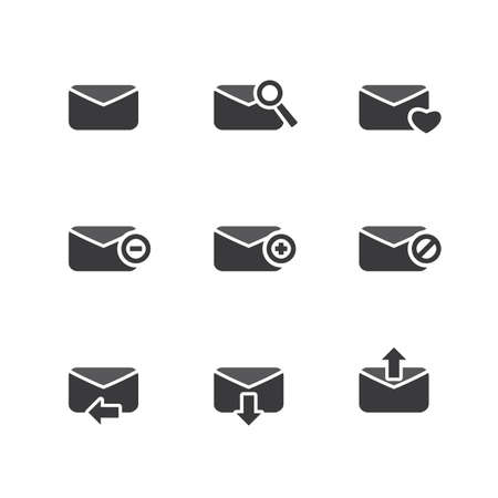 unread: E-mail Icon Set