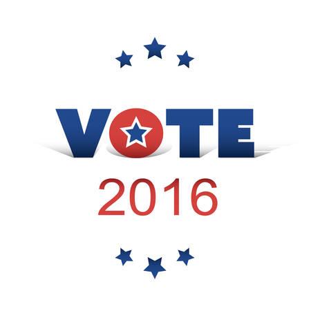 voting: USA Voting Design Concept Illustration
