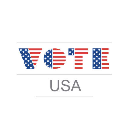congress: USA Voting Design Concept Illustration
