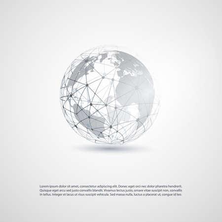Cloud Computing und Netzwerke Konzept