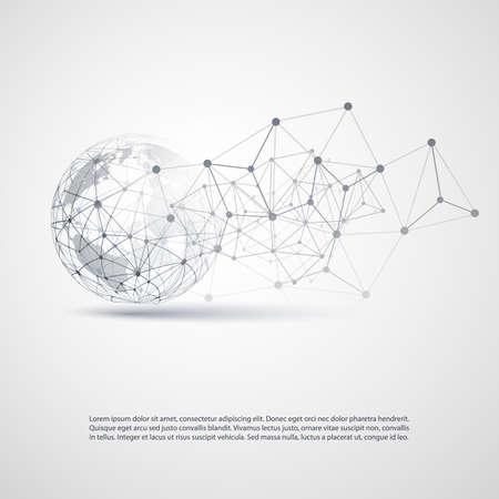 Cloud Computing et Réseaux Concept Banque d'images - 60302097