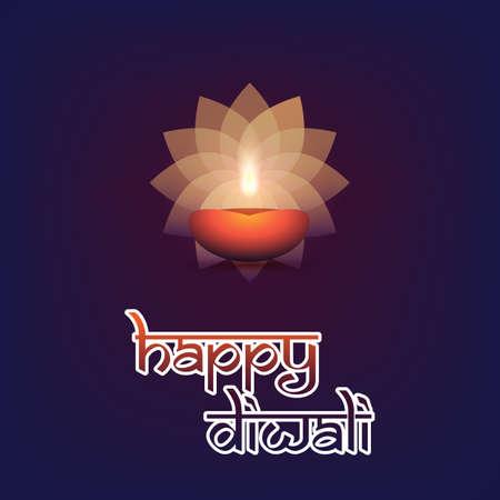 aum: Happy Diwali Card