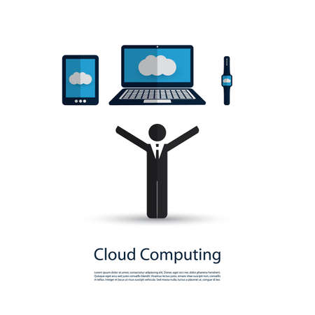 business it: Safe and Secure Digital World - Networks, IoT, Business IT and Cloud Computing Concept Design