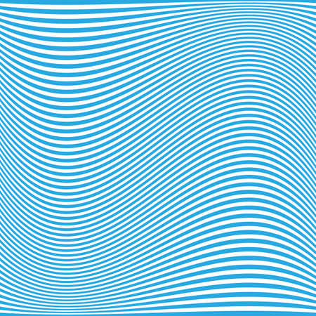 thirsty: Blue Wavy Lines Pattern - Background Design