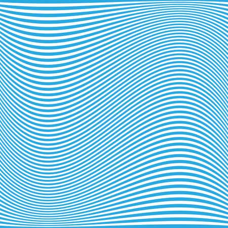 lineas onduladas: L�neas azules onduladas patr�n - dise�o del fondo Vectores
