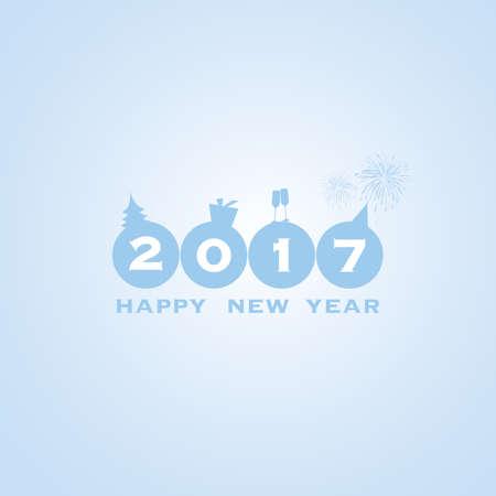 seventeen: New Year Card - 2017