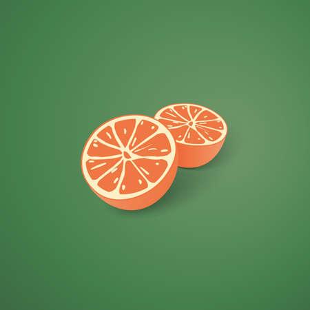segment: Halved Oranges