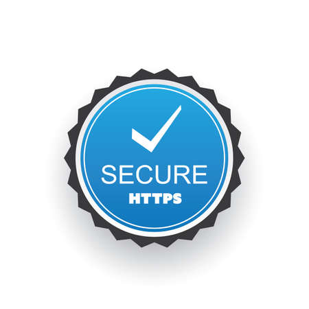 website: Secure Website Certificate Badge