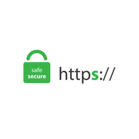 HTTPS-Protokoll - Safe and Secure Browsing Standard-Bild - 63084422