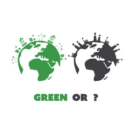 emission: Green Or? - Eco Earth Globe Concept Design