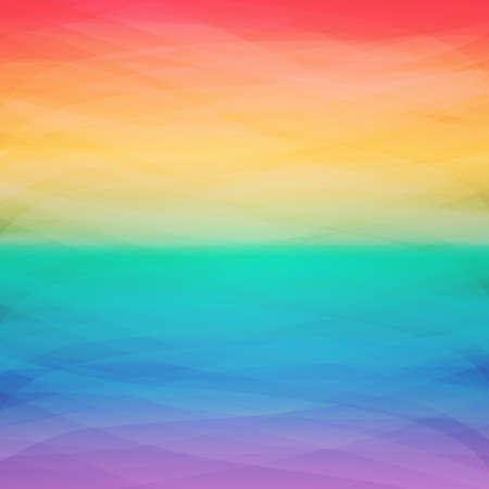 Kleurrijke Cover ontwerpsjabloon met abstracte, onscherpe achtergrond - regenboogkleuren