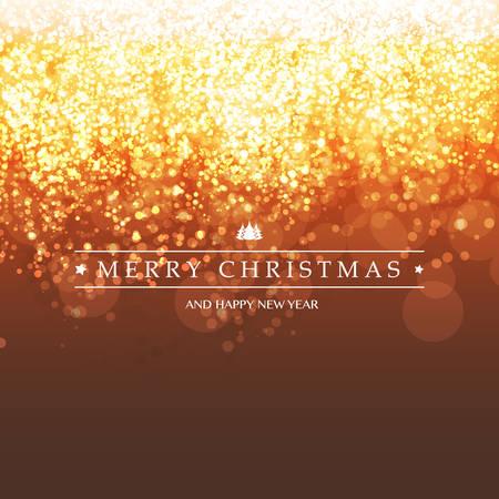 efectos especiales: Feliz Navidad - colorido moderno estilo Buenas fiestas con la etiqueta en el fondo borroso Bright espumoso Vectores