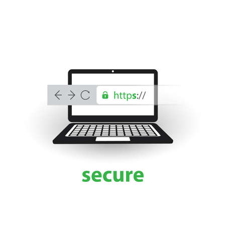 HTTPS Protocol - Safe and Secure Browsing on Mobile Computer