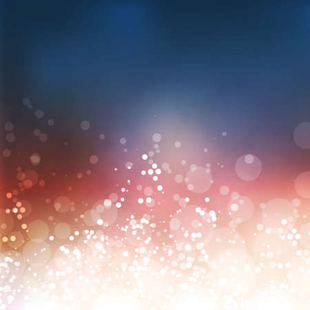 blue abstract: Colorful Sparkling Cover Design Template with Abstract Blurred Background
