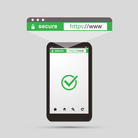 web browser: HTTPS Protocol - Safe Communication, Secure Browsing on Mobile Devices