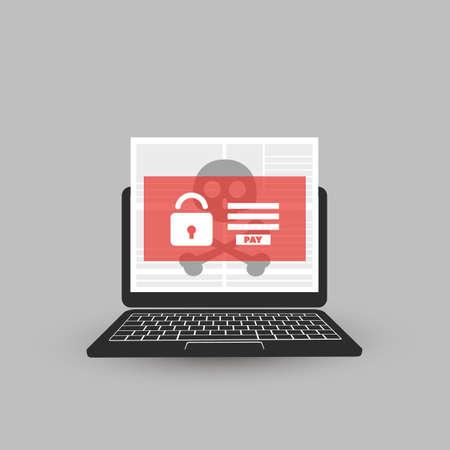 デバイスをロックされている、暗号化されたファイル、失われたドキュメントは、ランサムウェアの攻撃 - ウイルス感染症、マルウェア、詐欺、ス