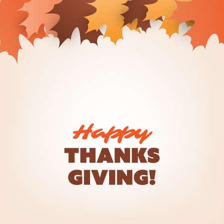 収穫 カボチャ 落ち葉 木の枝 トンボと秋ベクトル カード感謝祭