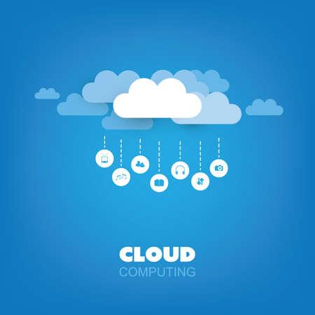 remote server: Cloud Computing Design Concept, Technology Background