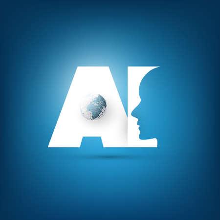 인공 지능, 딥 학습 및 미래 기술 개념 설계