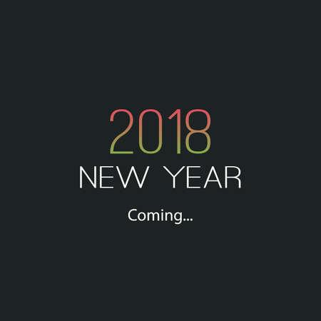 L'arrivo di Capodanno - 2018 Archivio Fotografico - 89361832
