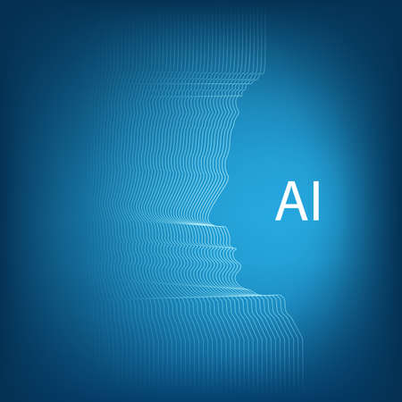 Artificial Intelligence, Deep Machine Learning, Communication, Future Technology Concept Design