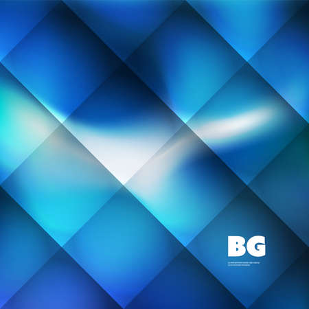 Blue Wallpaper, Background, Flyer or Cover Design for Your Business - Creative Vector Template
