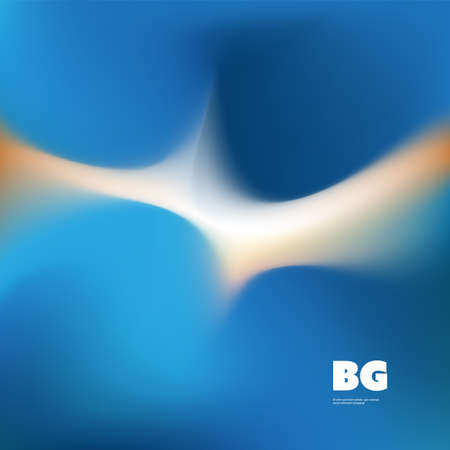 Blue and White Wallpaper, Background, Flyer or Cover Design for Your Business with Abstract Blurred Pattern - Applicable for Reports, Presentations, Placards, Posters - Creative Vector Template