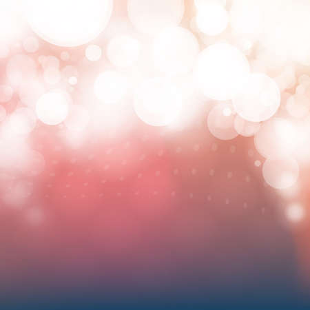 Cover Design Template with Abstract, Blurred, Colorful Background - Red and Bright White