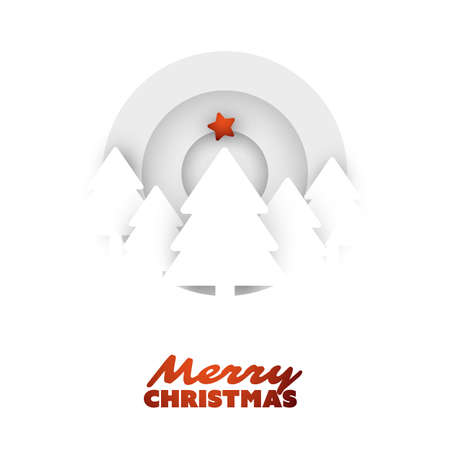 Cover, Invitation, Poster, Banner, Flyer, Placard Design for Branding, Advertising with Christmas Composition