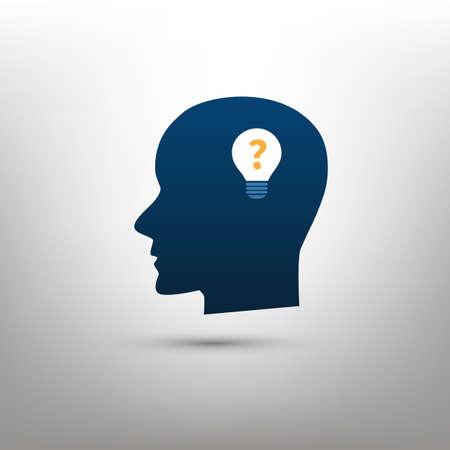 Neue Möglichkeiten, Chancen, Ideen - Vektor-Illustration von Idee Symbol, Symbol Konzept Kreatives Design Vektorgrafik