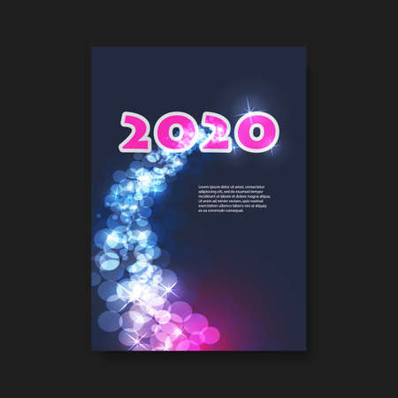 New Year Flyer or Cover Design - 2020