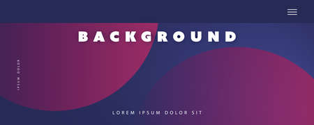Abstract Purple and Phantom Blue Minimal Geometric Pattern Background, Multi Purpose Template, Gradient Shapes Composition, Futuristic Poster, Header or Landing Page Design - Vector Illustration
