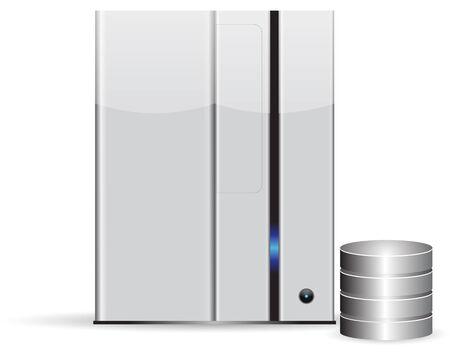 computer case: Server minimalist with database