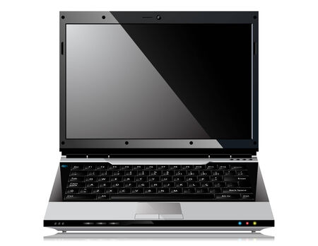 Shiny Laptop Stock Vector - 6827275