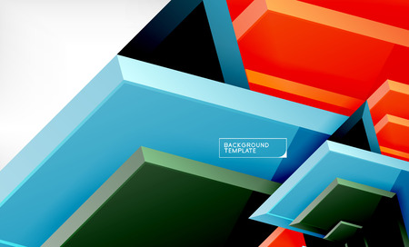 Arrow geometrical abstract background, directional wallpaper concept
