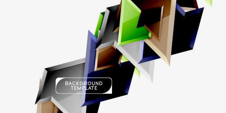 Geometric minimal design background