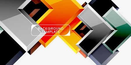 Abstract arrows composition background