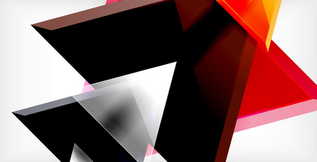 Triangle abstract background Vettoriali