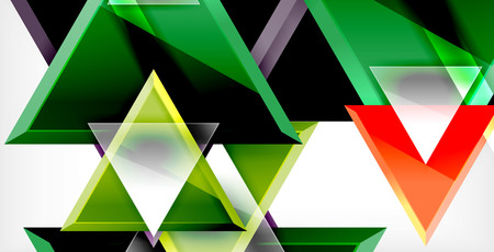 Triangle abstract background Stock Illustratie