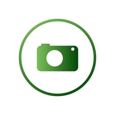 Camera icon, vector isolated. Modern simple snapshot photography sign. Instant trendy symbol for web site design, mobile app.