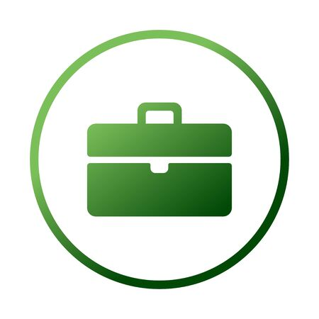 Bag tourist web icon. vector design