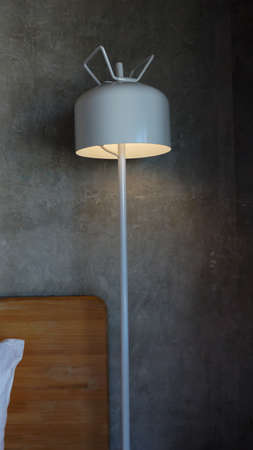 Decorative lights for indoor, with cement wall