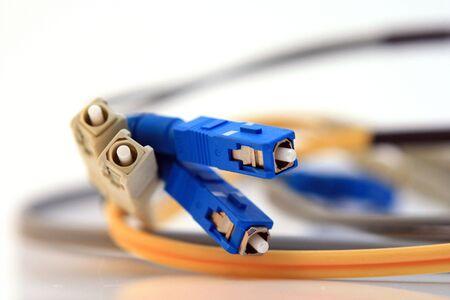 Fiber optic cables Zdjęcie Seryjne