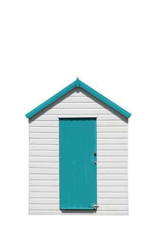 Beach Hut Banque d'images
