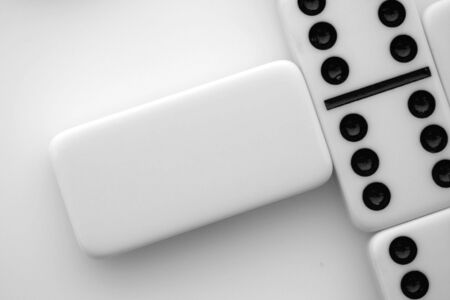Blank Domino tile