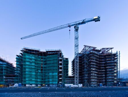 Construction site Swansea