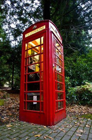 Red Telephone Box Stock Photo - 2038800