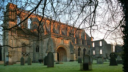 abbey: Malmesbury Abbey in Wiltshire